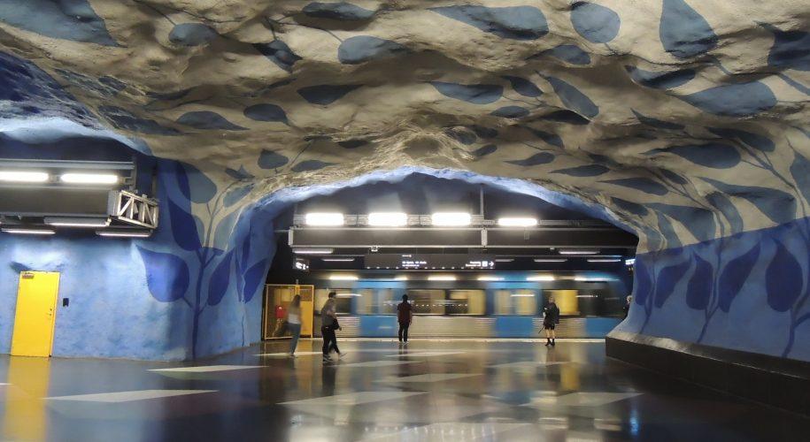 T-Centralen station, Stockholms tunnelbana. Foto: Steve Hobson